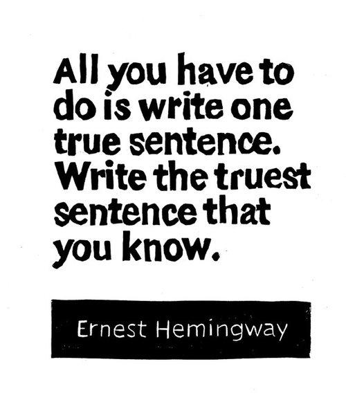 HemingwayOneTrue