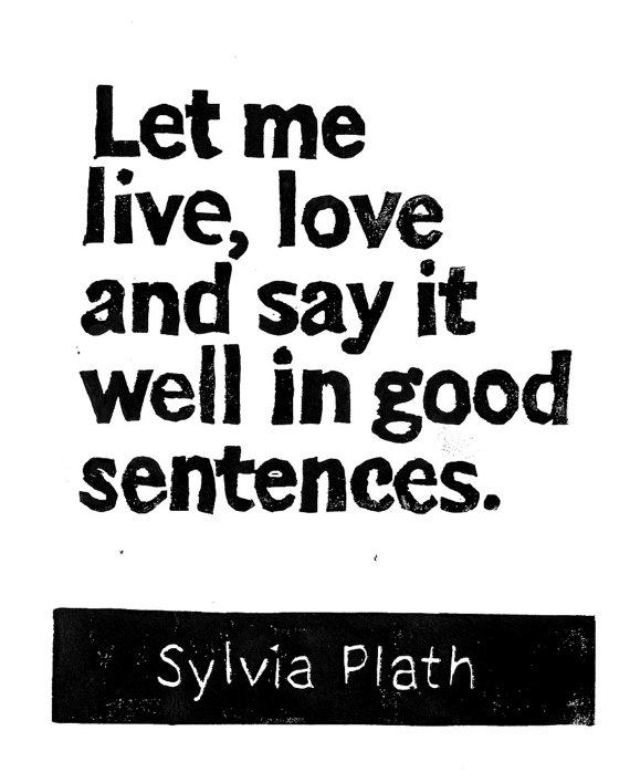 SylviaPlathQuote
