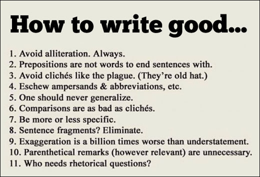 HowToWriteGood